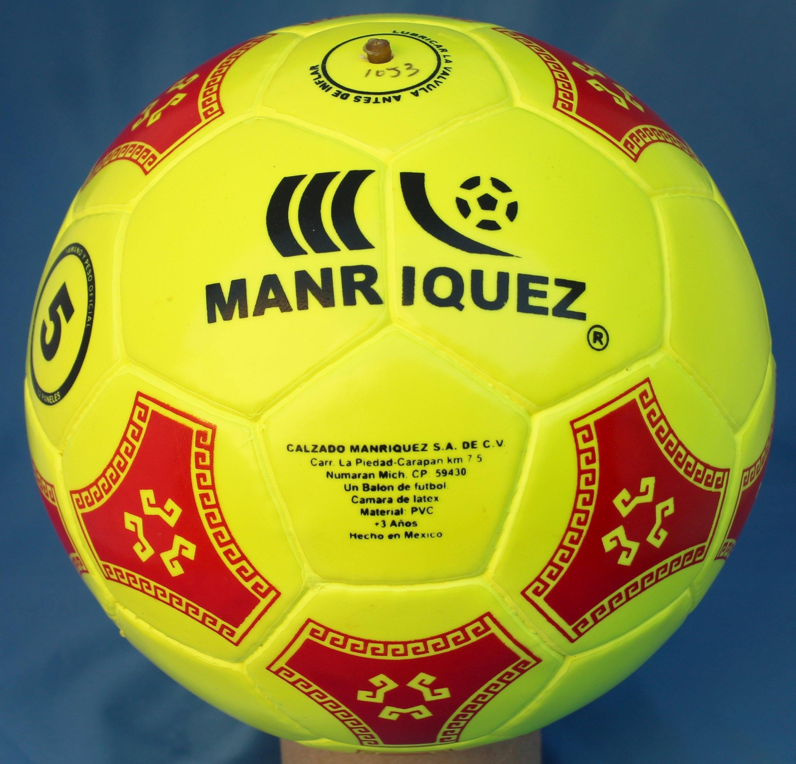 Balon futbol No.5 Marca Manriquez Modelo Líbero