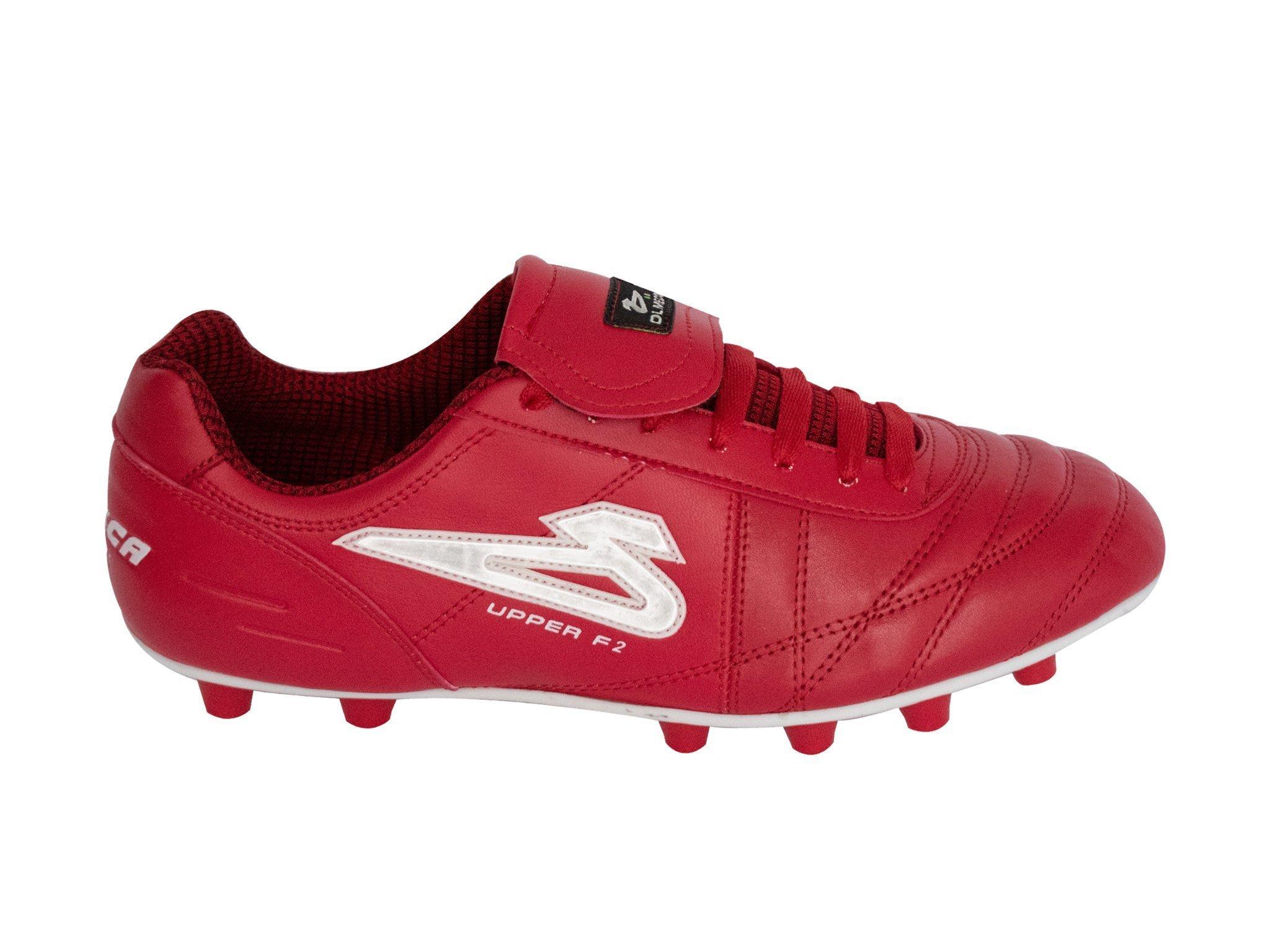 Zapato de fútbol Olmeca mod. UpperPro rojo