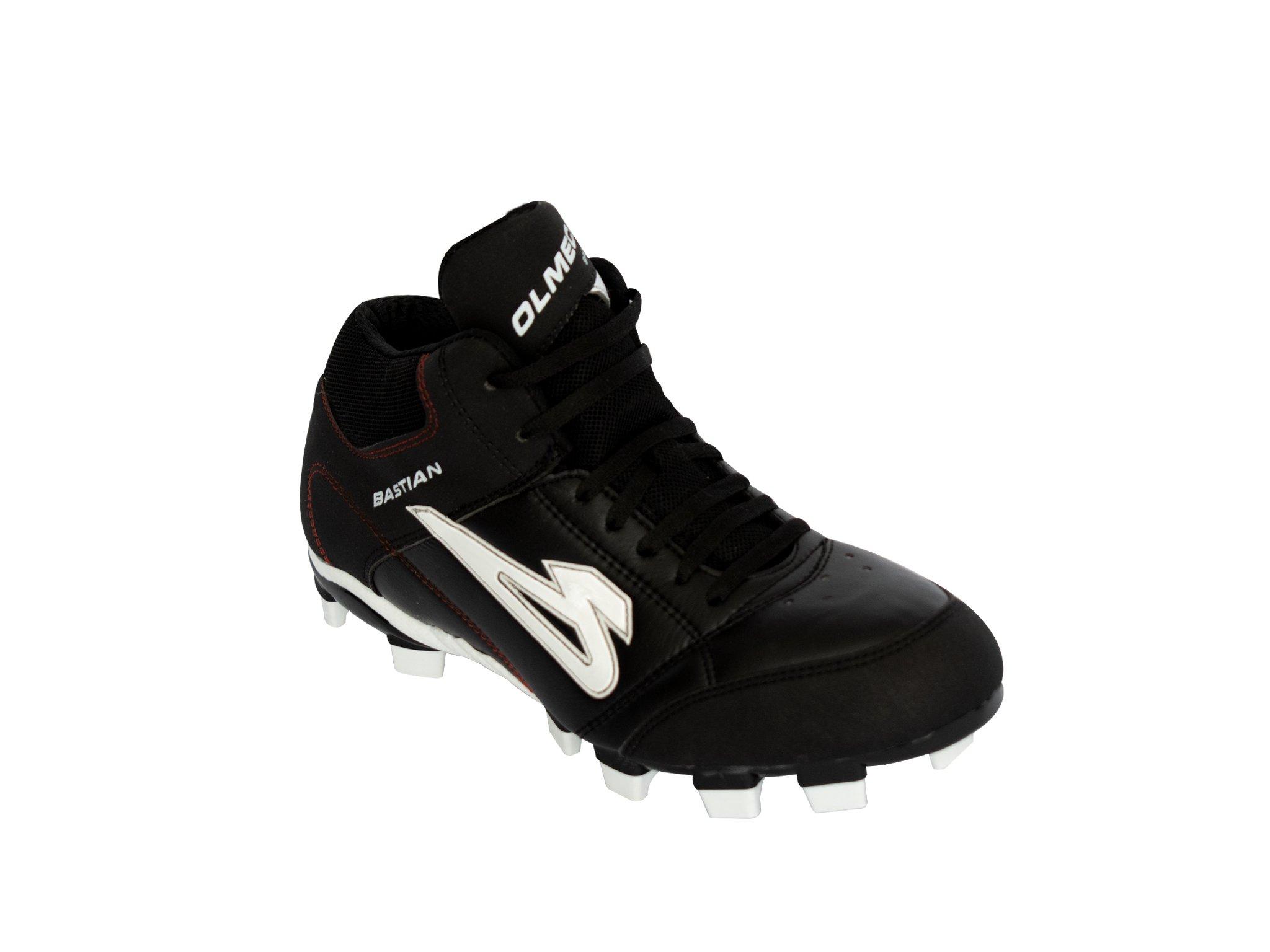 Zapato de Beisbol Olmeca mod. bastian negro