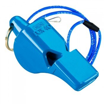 silbato-fox-40-mini-azul-cordon