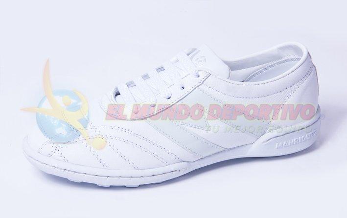 2437-Tenis Manriquez TM Infantil Total Blanco