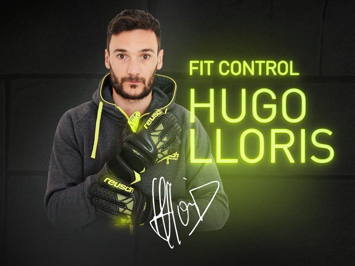 Guantes de portero Reusch fit control G3 Fusion Hugo Lloris