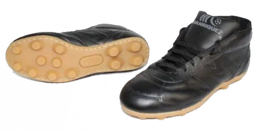 IMG 01 2393-zapato De Futbol Manriquez Negro Botin Vintage Tx