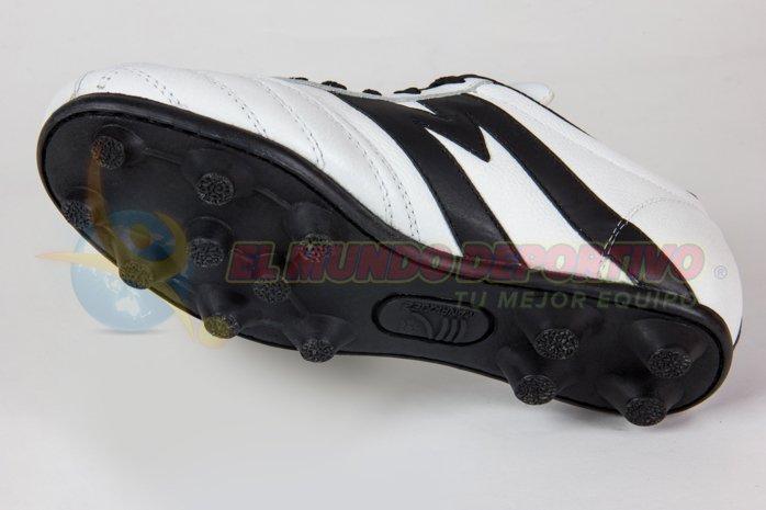 2301 – Zapato fútbol Manriquez Infantil MID TX BCO/NGO