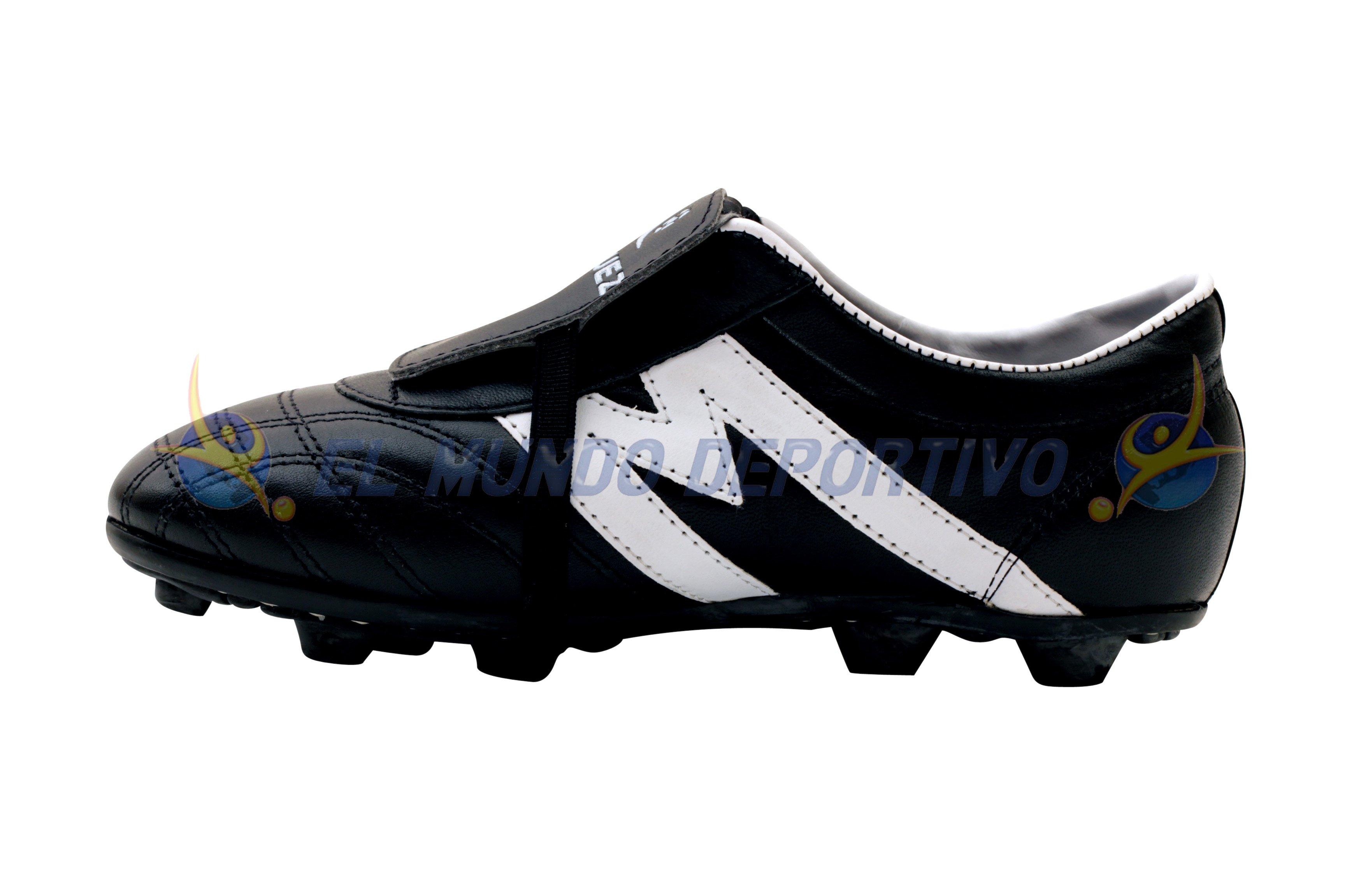 Inicio Tienda Tacos Fútbol Superficie Dura (Tierra) Modernos Zapato futbol  Manriquez MID TX ngo bco 6f972bafb0555