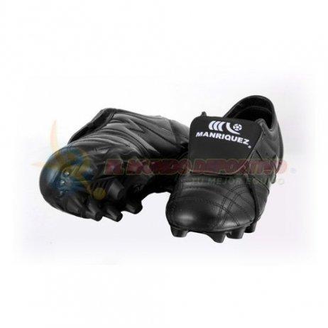 db999a47b21da 2195-Zapato de Fútbol Manriquez MID SX Total Negro