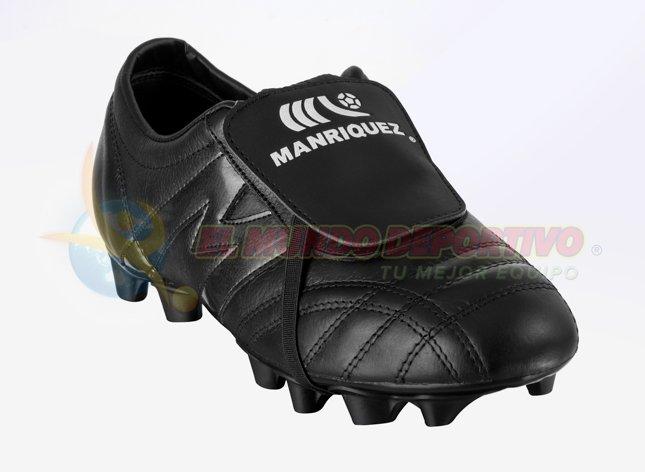 2195-Zapato de Fútbol Manriquez MID SX Total Negro