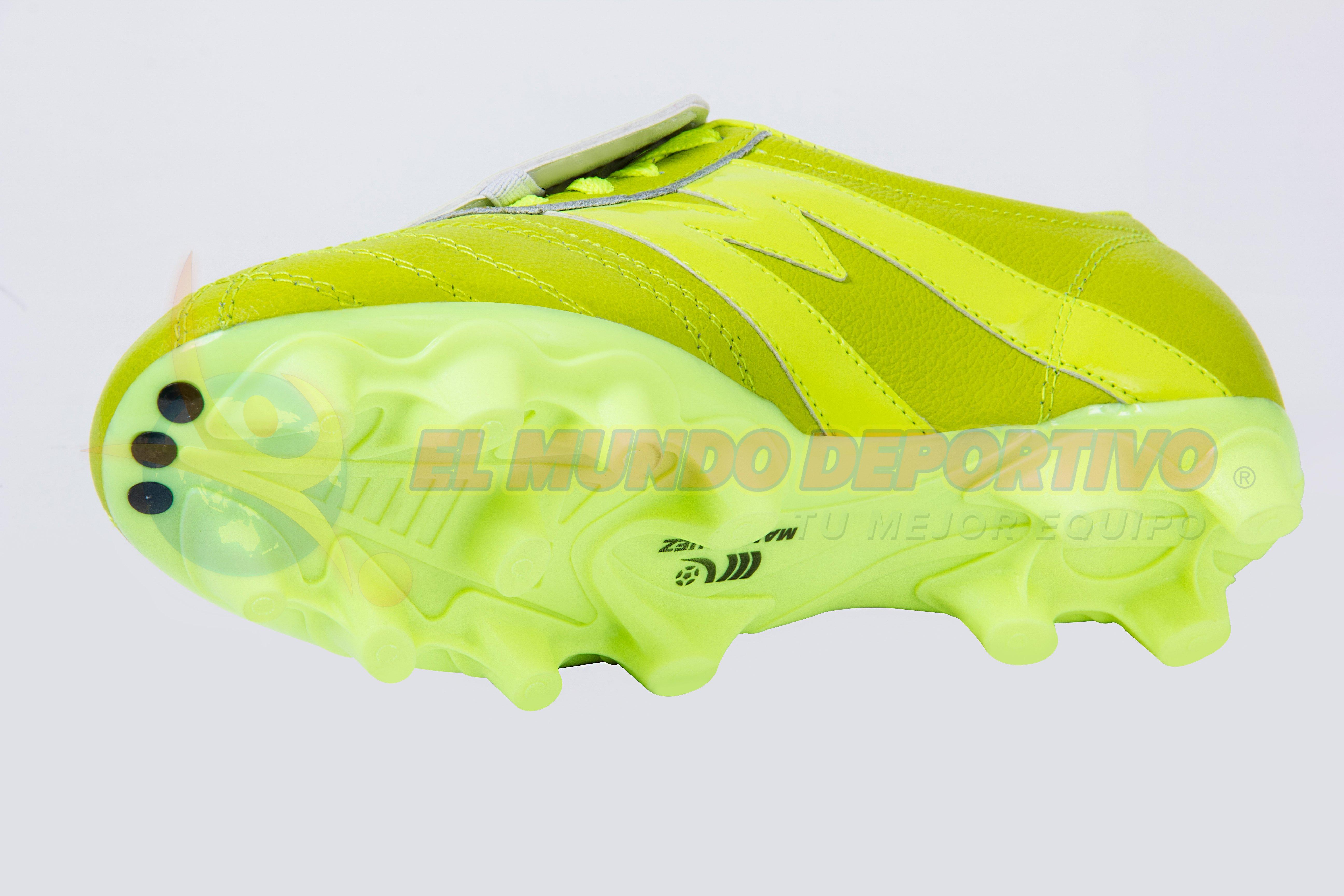 2206-Zapato de Fútbol Manriquez MID SX Total Verde Neón