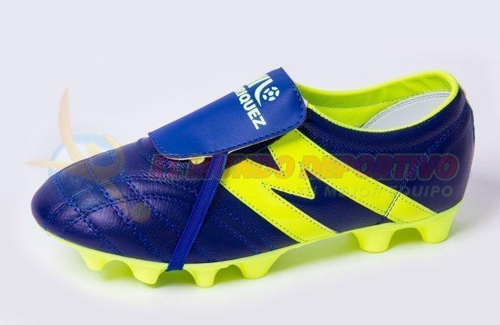 2232-Zapato de Futbol Manriquez MID SX REY/VERDE