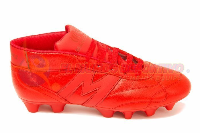 2237-Zapato Fútbol Manriquez VINTAGE SX total Rojo