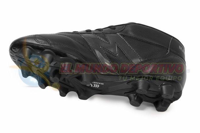 2238-Zapato Fútbol Manriquez VINTAGE SX total Negro