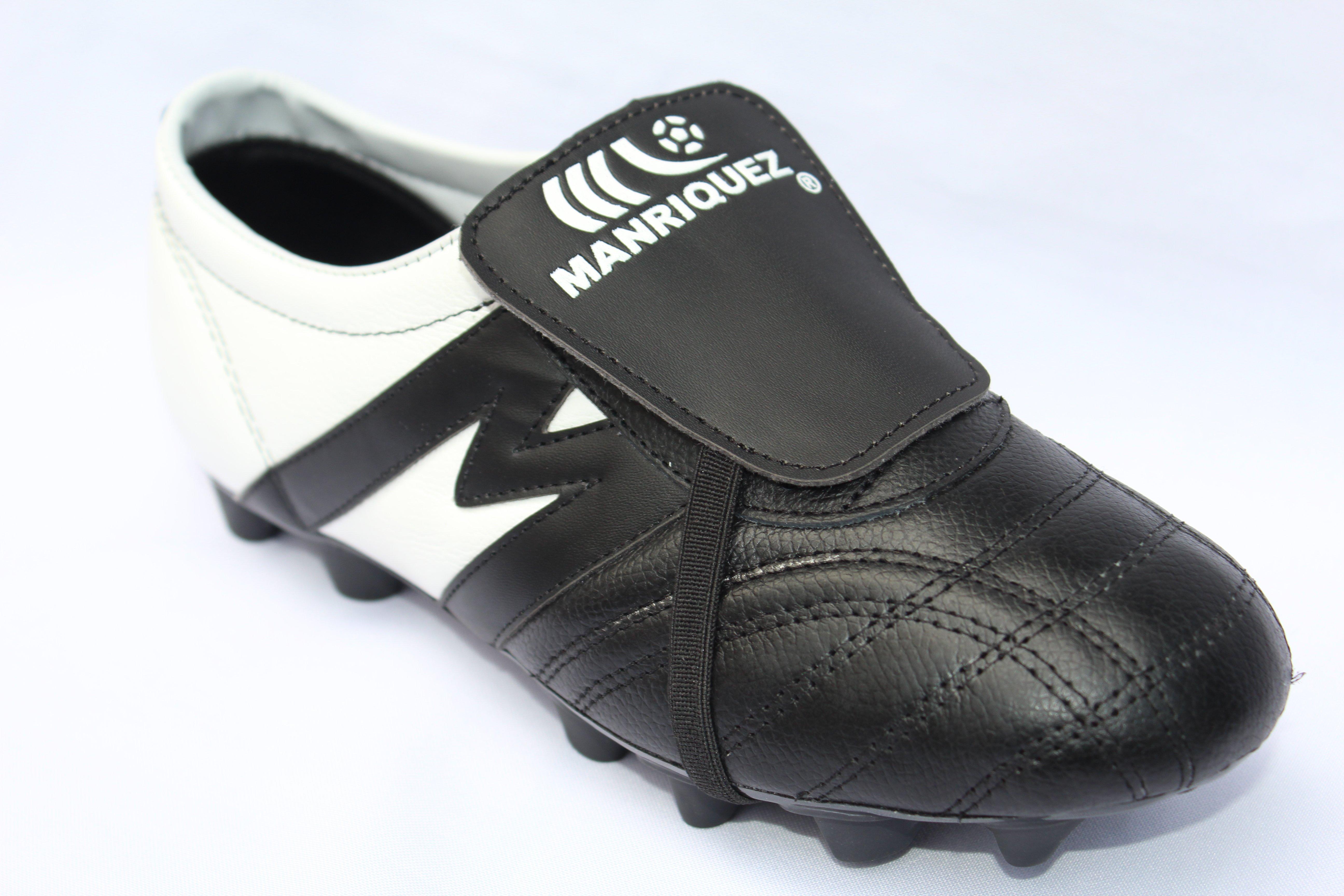 2244-Zapato de Fútbol Manriquez MID Eclipse SX Negro/Blanco