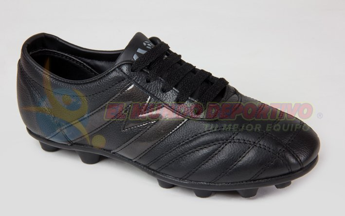 4d0dc6dba 2391-Zapato futbol Manriquez MID TX Total Negro