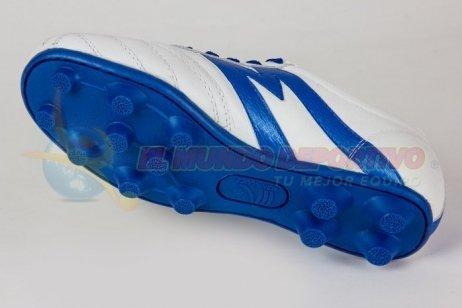 Zapato futbol Manriquez MID TX bco rey  6cf3d4692fa82