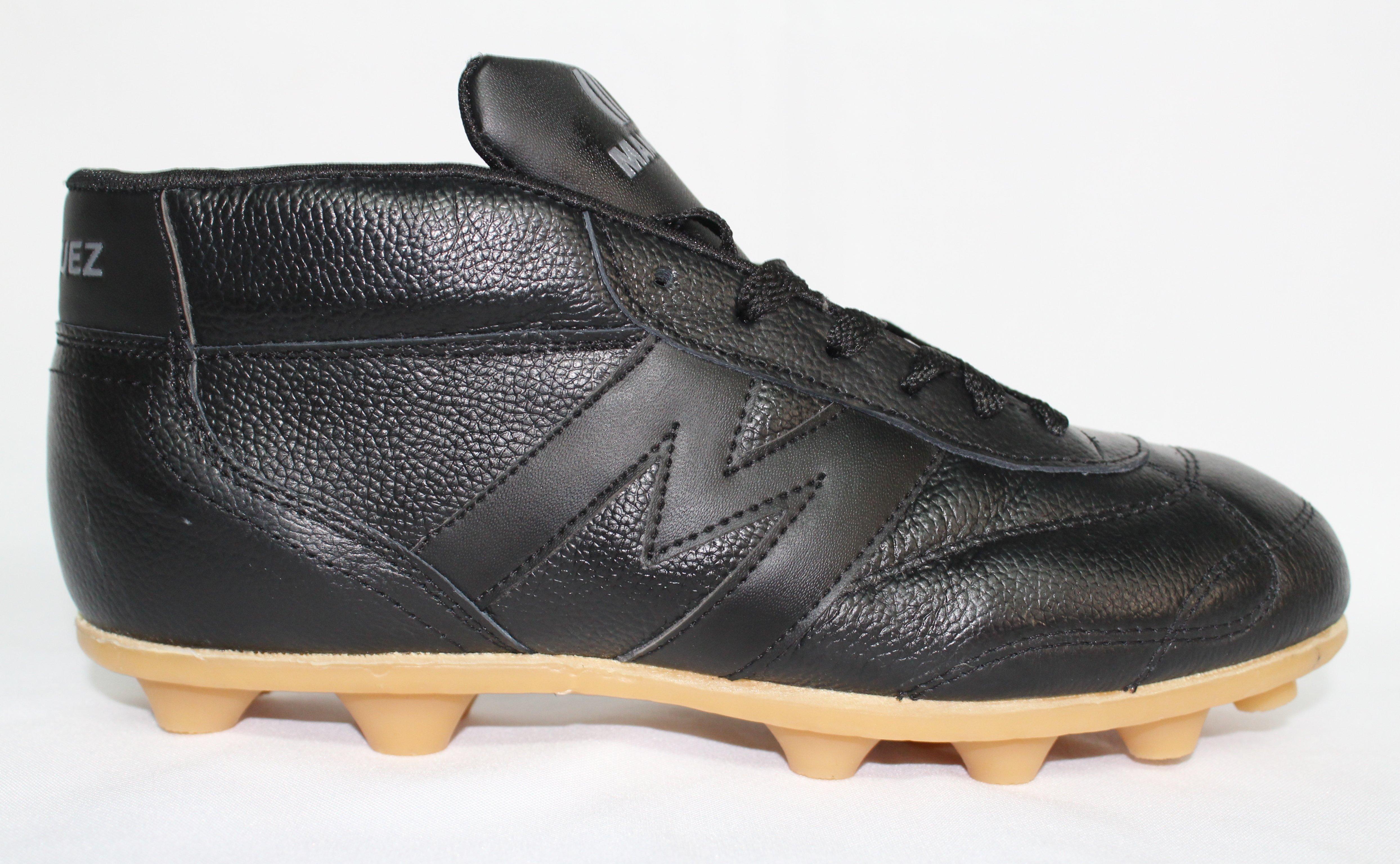 2393-Zapato futbol Manriquez modelo Bota Vintage TX